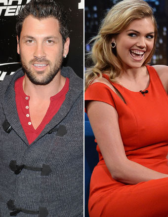 Maks Chmerkovskiy Confirms He's Dating Kate Upton! 'I Think I Got Lucky'