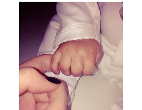 Kendall Jenner Shares Precious Pic of Niece North West