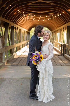 Pics! See Kelly Clarkson's Wedding Dress