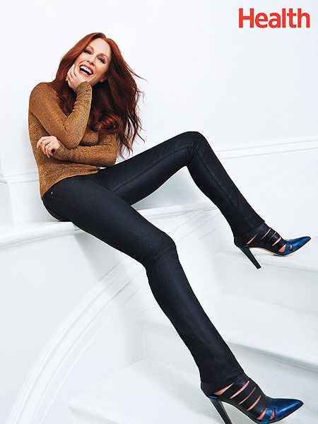 Julianne Moore's Alternative Secrets to Staying Healthy