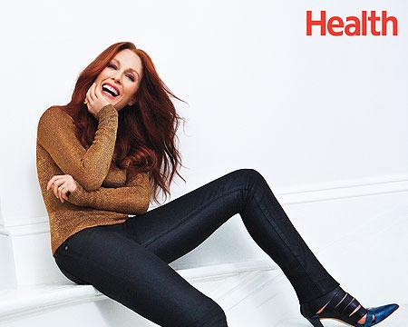 Julianne Moore's Alternative Secrets to Staying Healthy