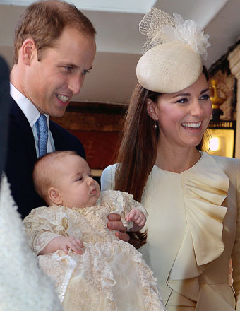 Prince George: His Royal Christening… and Tub Time with Mom and Dad?