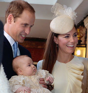 Prince George's Christening: See the Official Family Portrait!