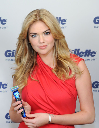 Kate Upton Is Passionate About Moustaches (Like on Her Man, Maks!)