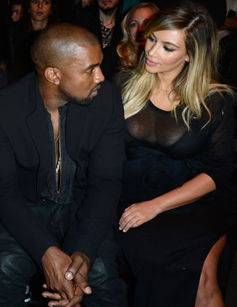 Kimye Lovefest! Kanye Gushes, Kim Adores… and Thinks 'Bound 2' Parody Was Hilarious