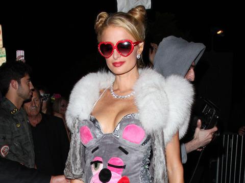 Pics! Paris Hilton's 'Twerk or Treat' Miley Cyrus Halloween Costume and More