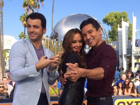 How Does Leah Remini 'Scare' Her 'DWTS' Partner?