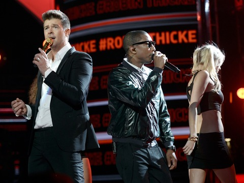 'Blurred Lines' Crossed: Marvin Gaye's Children File Lawsuit Against Robin Thicke