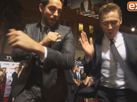 'Thor 2' Dance-Off! Tom Hiddleston vs. Zachary Levi