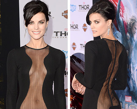 No Underwear? Jaimie Alexander Shows Off Her Sheer Beauty