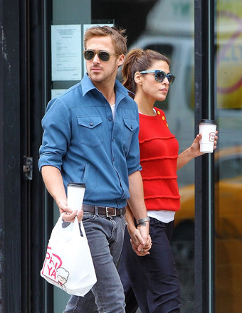 Eva Mendes Slams Ryan Gosling Split Rumors as 'Completely False'