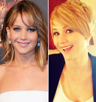 Jennifer Lawrence Explains Pixie Cut, Says Katniss' Hair Won't Change