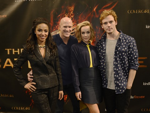 Video! 'Catching Fire' in America's Malls