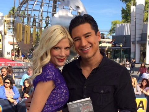 Broke, Sex Tapes and Katie Holmes: Tori Spelling Dishes on All Her Salacious Headlines!
