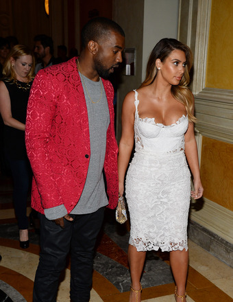 Kim and Kanye! Family Outing with Nori and His $5-Mil Italian Wedding Plans