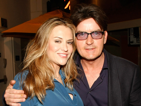 Charlie Sheen Tweets Bomb Birthday Cake for Brooke Mueller