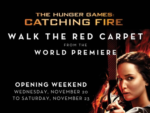 'The Hunger Games: Catching Fire': Walk the Red Carpet at L.A. Live!