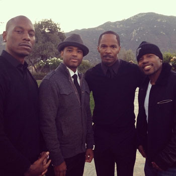 Jamie Foxx Throws Star-Studded Fundraiser for Trayvon Martin Foundation