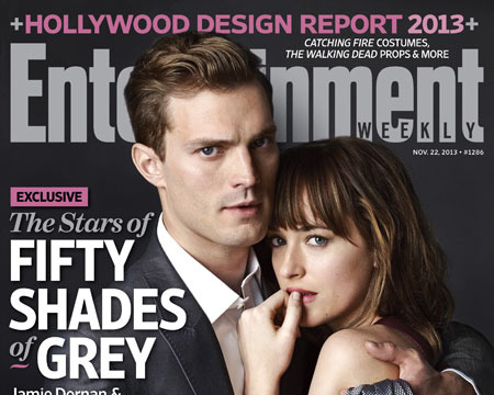 Hot or Not? First 'Fifty Shades' Pic of Christian and Anastasia!