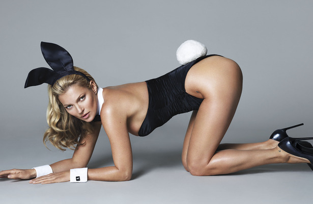 Kate Moss Will Get Naked… See Her as a Playboy Bunny for Now!