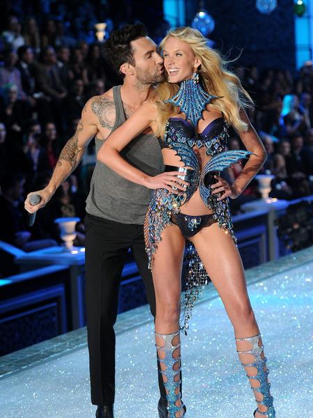 Adam Levine Is    Proud    of His Victoria   s Secret Angel  Behati    Behati Prinsloo Victorias Secret Adam