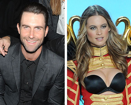 Adam Levine Is 'Proud' of His Victoria's Secret Angel, Behati Prinsloo