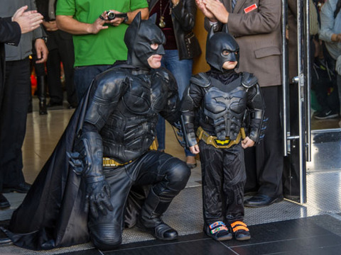 Batkid! Christian Bale and Ben Affleck React to Mini-Caped Crusader
