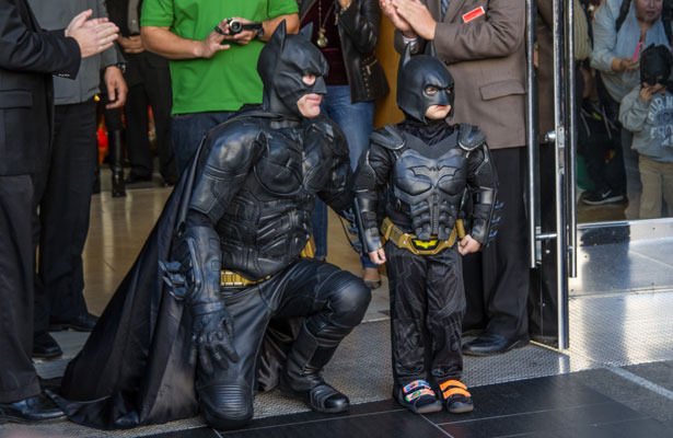 Batkid! Christian Bale and Ben Affleck React to Mini-Caped Crusader
