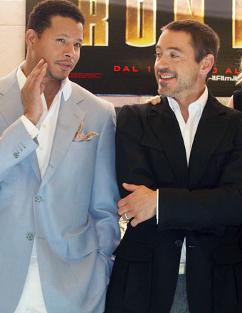 Terrence Howard Says Robert Downey Jr. 'Pushed Me Out' of 'Iron Man'