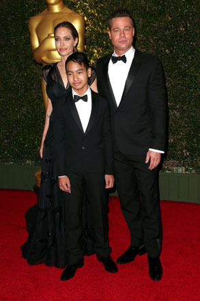 Look! It's Angelina Jolie and Brad Pitt's Son Maddox in a Tux