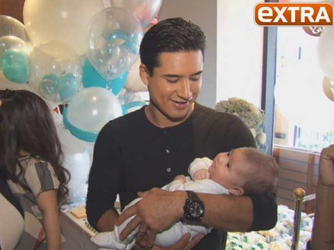 See Mario Lopez's Baby Boy Dominic for the First Time!