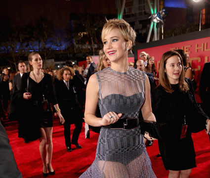 Copy Kat? J.Law Wows in Sheer Dior, But Guess Who Wore the Dress First!