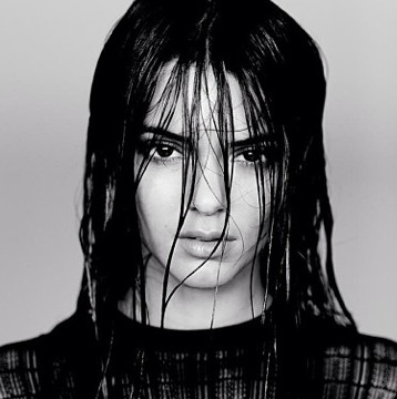 Nip Alert! Kendall Jenner in a Sexy See-Through Top