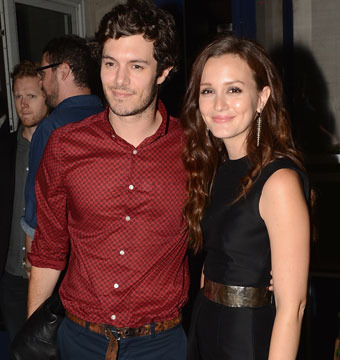 Leighton Meester and Adam Brody Engaged!