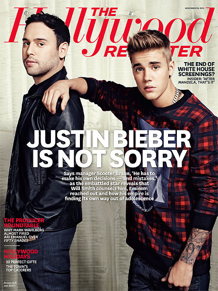Justin Bieber Doesn't 'Give a F***' and 4 Other Candid Comments to Hollywood Reporter