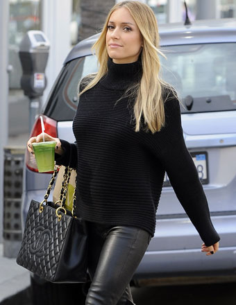 Gossip Girl: Kristin Cavallari Shows Off Tiny Baby Bump