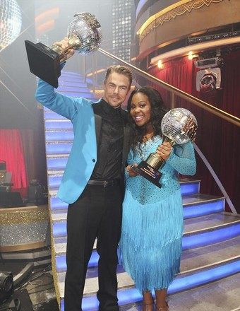 'DWTS' Finale: Amber Riley Wins the Mirror Ball Trophy