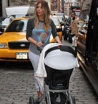 Kim Kardashian Defends Her Parenting Skills
