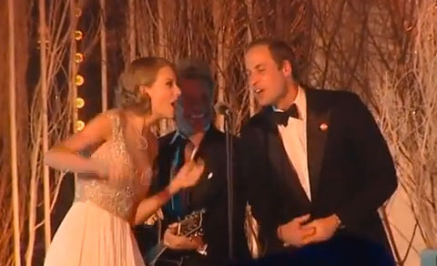 Video! Taylor Swift Sings Karaoke with Prince William and Jon Bon Jovi?
