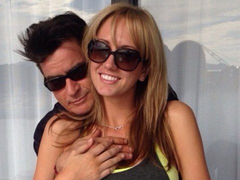 Pic! Charlie Sheen Spotted Getting Cozy with Mystery Blonde
