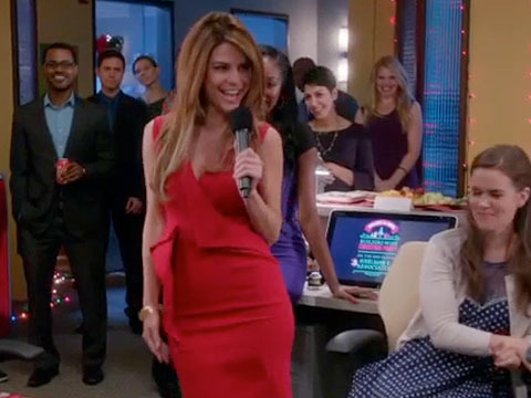 Sneak Peek! Maria Menounos' Sexy Rendition of 'Santa Baby' on 'The Mindy Project'