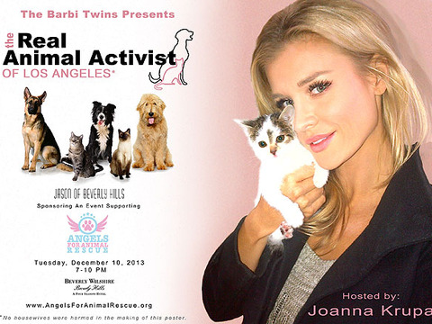 'Real Housewives' Star Joanna Krupa and Barbi Twins Help Rescue Animals