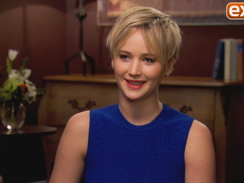 Jennifer Lawrence on 'American Hustle': 'Yeah, I Made Out with Batman'