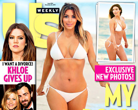 Hot Pic! Kim Kardashian Flaunts Weight Loss in Skimpy Bikini