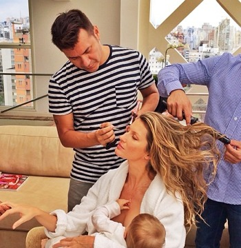 TMInstagram? Gisele Bündchen Posts Breastfeeding Pic
