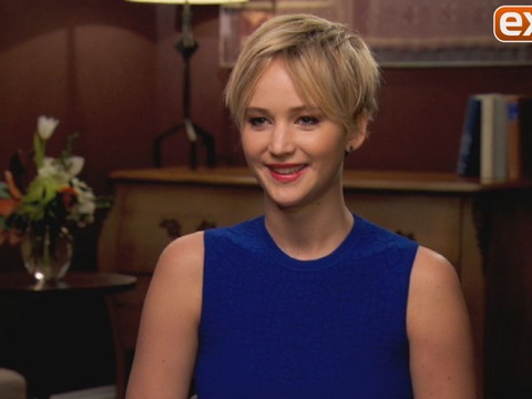 Jennifer Lawrence on the Origin of 'JLaw,' and Kissing Amy Adams in 'American Hustle'