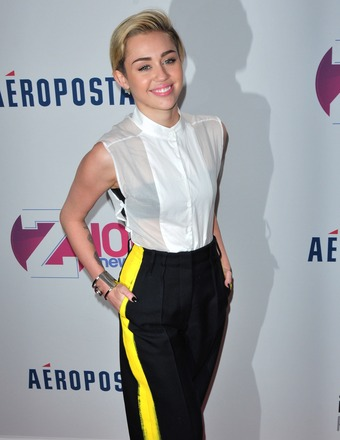 The Many Outfits of Miley Cyrus at Jingle Ball