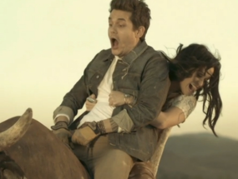 'Who You Love' Video: John Mayer, Katy Perry and a Mechanical Bull?