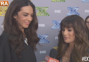 Lea Michele on Being a Judge on 'X Factor': 'I'm Around If They Want…