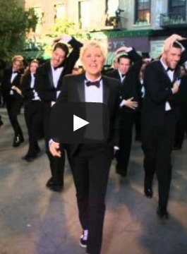 Ellen DeGeneres Rocks in Oscars Trailer, Angles for 'Bridesmaids 2' Part